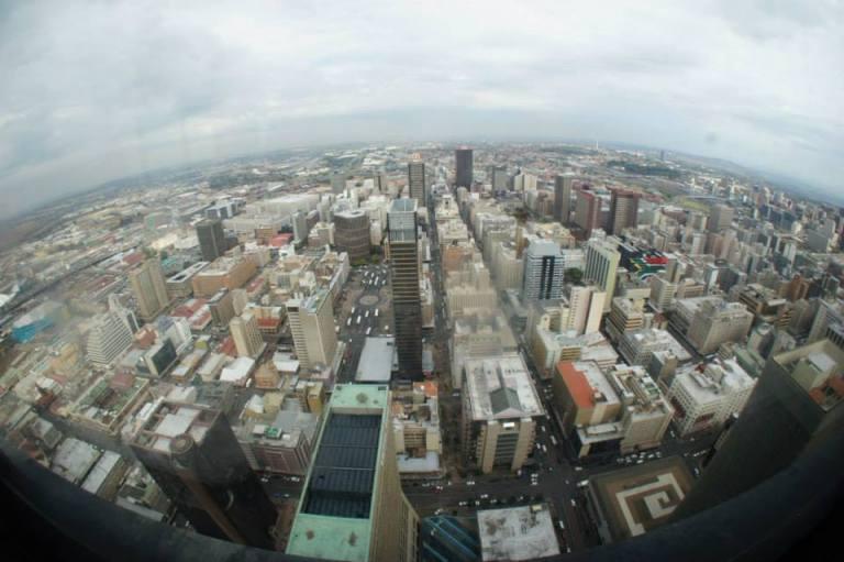 Vista do edifício Top of Africa